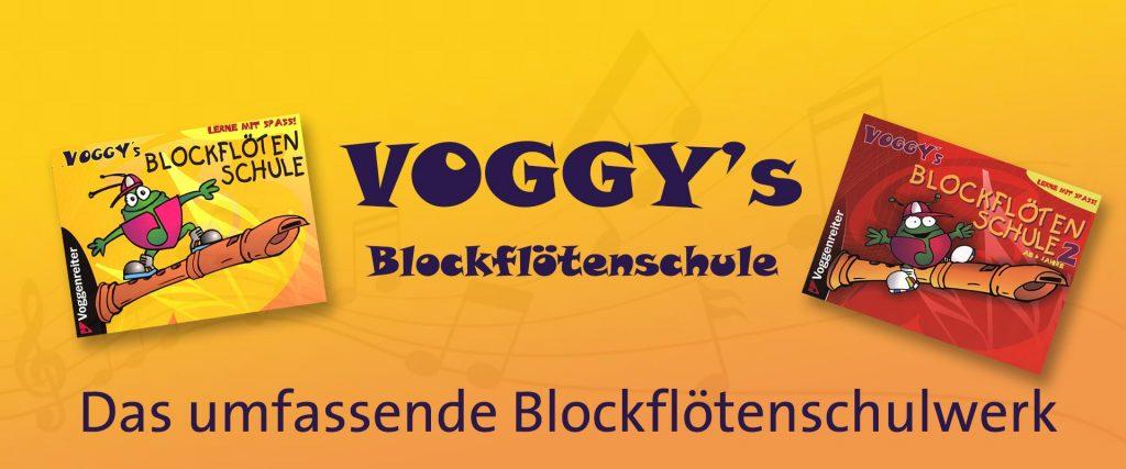 Voggy's Blockflötenschule Band 2
