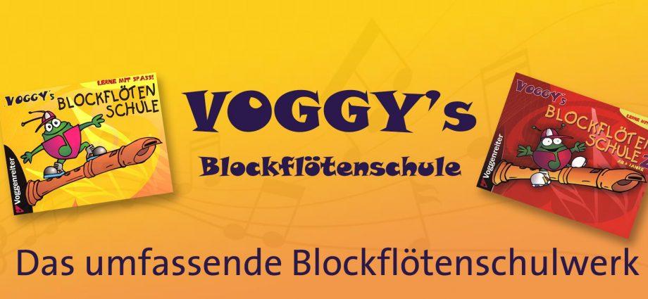 Voggys Blockflötenschule Header