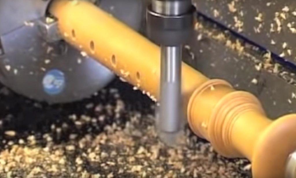 Bau einer Blockflöte der Firma Küng