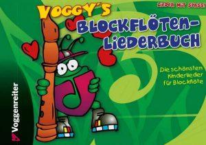 Voggys Blockflötenschule - Liederbuch Cover