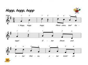 Voggys Blockflöten Liederbuch - Hopp hopp hopp