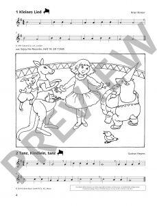 Spiel und Spaß mit der Blockflöte - Spielbuch 2 - Beispielseie