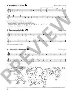 Spiel und Spaß mit der Blockflöte - Spielbuch 2 - Beispielseite
