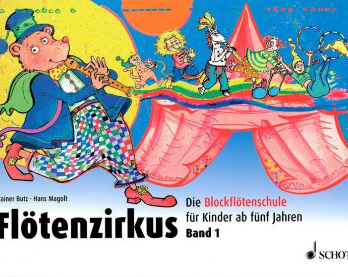 Fötenzirkus Blockflötenschule - Cover