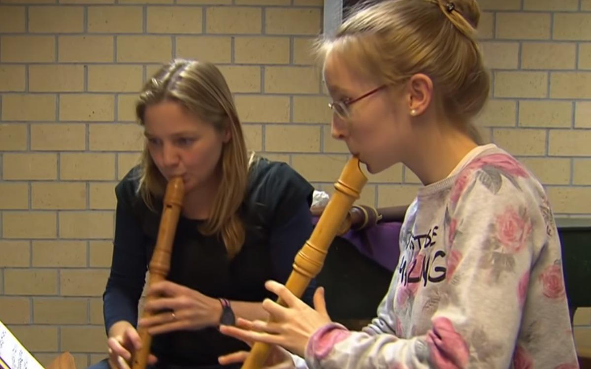 Julia Wetzel – Das Blockflötentalent aus Inzigkofen
