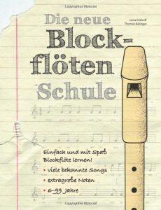 Die neue Blockflötenschule - Cover