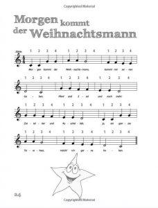Die neue Blockflötenschule - Lied Morgen kommt der Weihnachtsmann