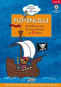 Flötenlilli Blockflötenschule Band 2 Cover