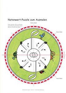 Flötenlilli Blockflötenschule Band 2 - Notenwert Puzzle