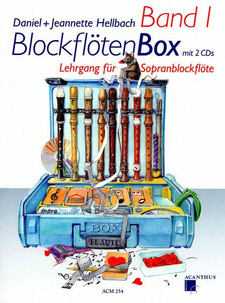 Blockflötenbox Band 1 - Cover
