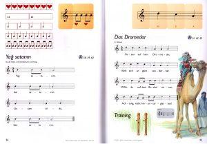 Blockflötenbox Band 1 - Seite 24 und 25