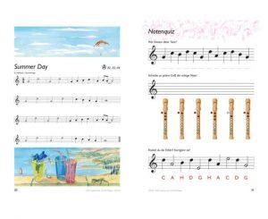 Blockflötenbox Band 1 - Seite 30 und 31