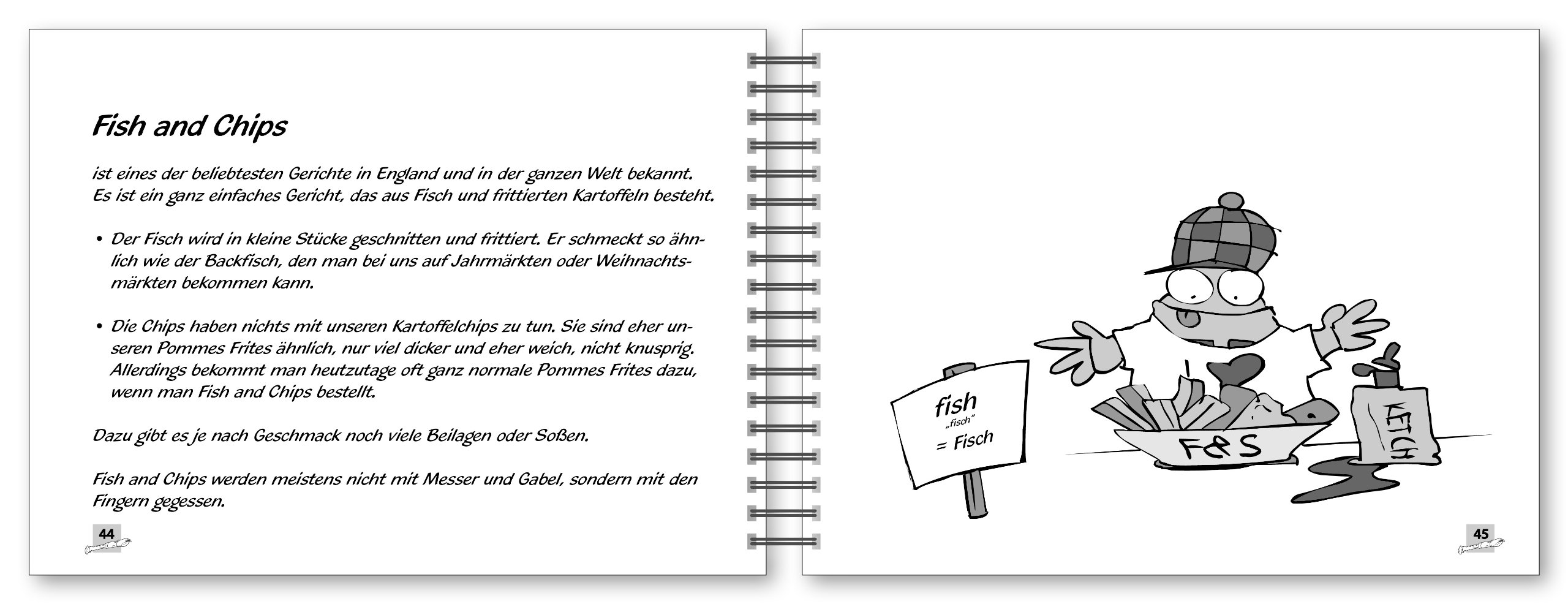 Voggy besucht England - Fish and Chips