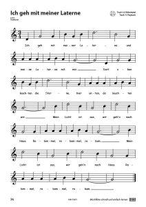Blockflöte - Schnell und einfach lernen - Ich geh mit meiner Laterne