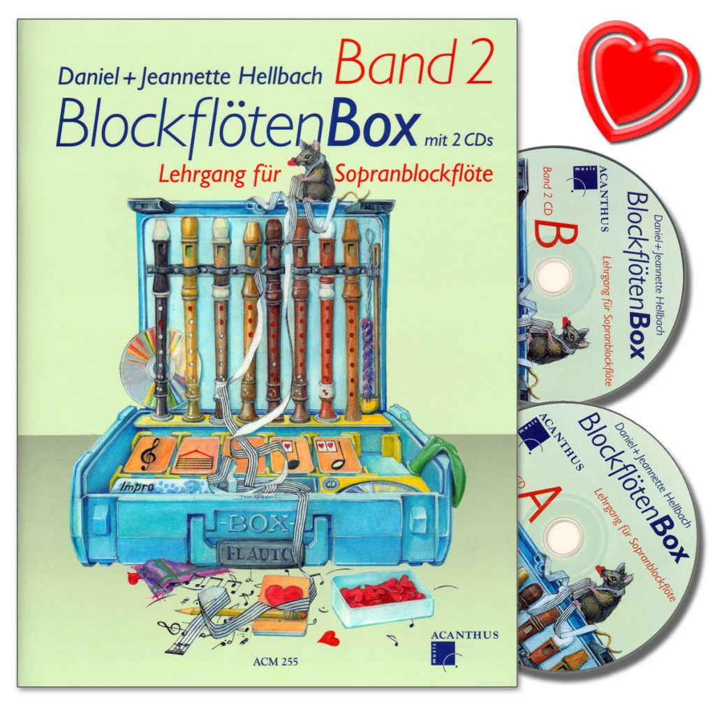 Blockflötenbox Band 2 – mit 2 CD's