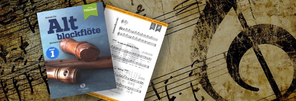 Schule für Altblockflöte 1 – Altblockflöten-Schule für Jugendliche und Erwachsene
