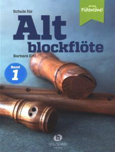 Schule für Altblockflöte Band 1 - Cover